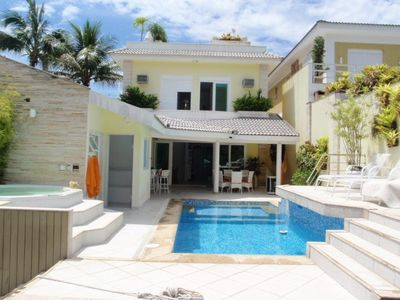 Photo for BEAUTIFUL HOUSE - 5 SUITES - IN THE CHANNEL - WITH SWIMMING POOL (TARIFF TO PART) - COND. FRAD