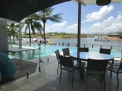 Photo for HARBOURSIDE LUXURY AT PORT HINCHINBROOK