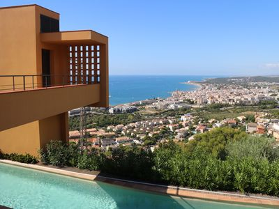 Photo for VILLA DUMAS ARCHITECTURAL MASTERPIECE  /HEATED POOL AND FABULOUS  SEA VIEW