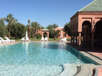 Photo for Charming Riad Villa early in Palmeraie