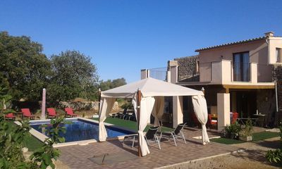 Photo for VILLA ECOLOGIA CON PISCINA, WIFI, 15M. Desde Es Trenc, Cala Pi, COLONIA ...