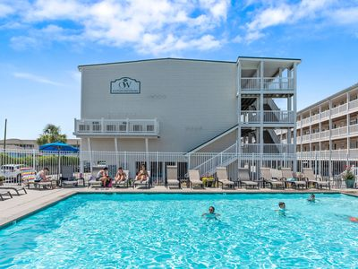 Photo for OW4101 - Oceanview Condo with pool and elevator access