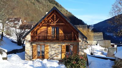 Photo for House south facing cottage in the Louron Valley near Loudenvielle classified 3 *** Wifi