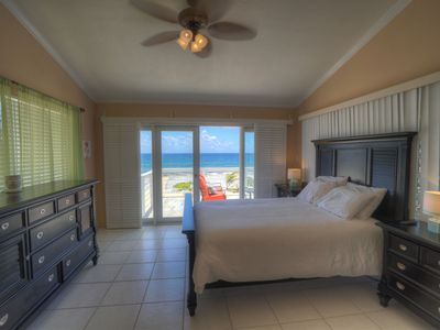Photo for Amazing Ocean Views, Elegant Furnishings, New Patio. Free stateside calls!