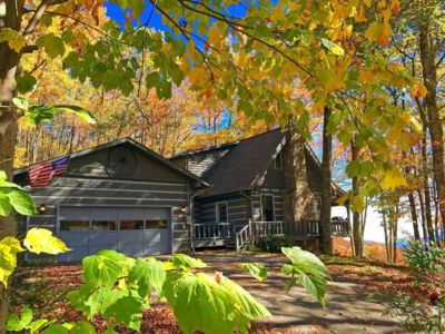 Photo for A VIEW TO REMEMBER - 2 BR w/ loft, 2 Baths, Sleeps 8,  WiFi, Hot Tub & more