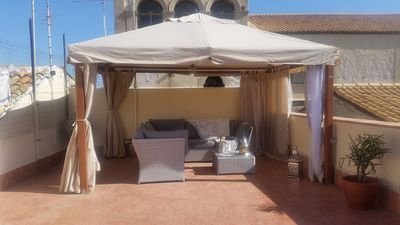 Photo for Penthouse Imaginarium, 2 bedrooms, 2 bathrooms, very big terrace with BBQ gas.