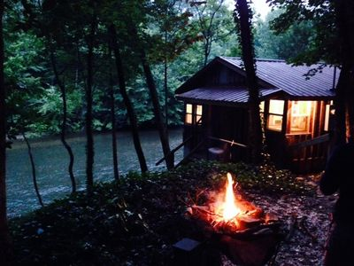 Chattooga Riverfront - Section II - 20 Ft From River - Only Riverfront Rental