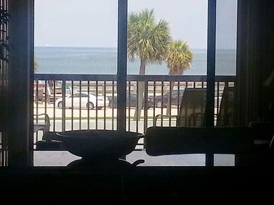 Photo for Central Beach Ocean Front Condo-Walk To Shops And Restaurants