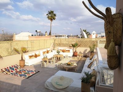 Photo for Naanaa Luxury Quadruple Room At Riad NaaNaa In Marrakech