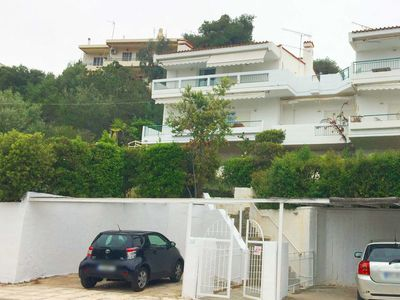 Photo for Beautiful seaview maisonette in the Athens Riviera