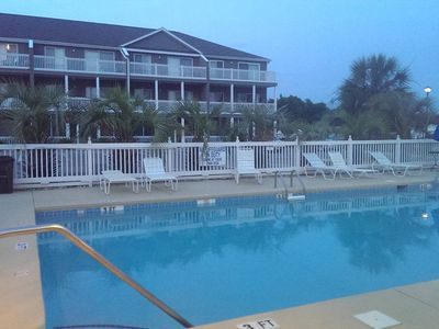 Photo for Minutes to the Beach! 2 Pools, Gated Community