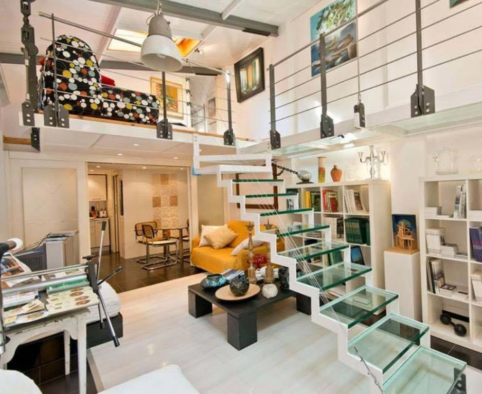 Rome modern and comfortable loft in the heart of the real for Interior design roma