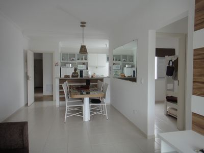 Photo for Apt 2/4 to 80 meters from the beach, overlooking the mountains, for 8 people