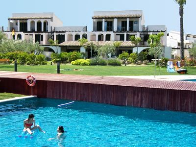 Photo for Casa 11 with incredible sea-views, twin pools & beach at just 200m