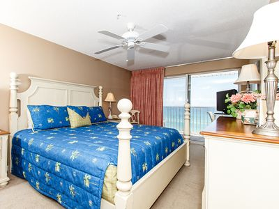 """Master Bedroom - Just when we thought this very impressive unit couldnt get much better, the views from your private balcony in the master bedroom scream """"look at me"""""""