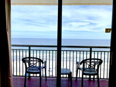 Photo for 8th Floor Renovated, Queen Beds, DIRECT OCEANFRONT VIEW, Pools, Hot Tubs +