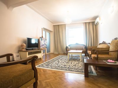 Photo for Spacious apartment in the vibrant heart of Plovdiv with private parking