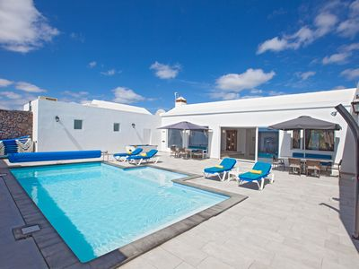 Photo for Villa Cartaphilus 6 bedrooms, Free Air Con, Electrically heated pool,Free WiFI