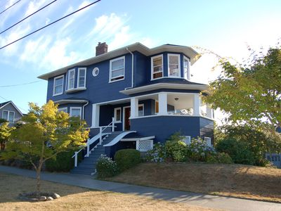 1904 Queen Anne Style Home With Stunning Views, Close to Beach & Downtown