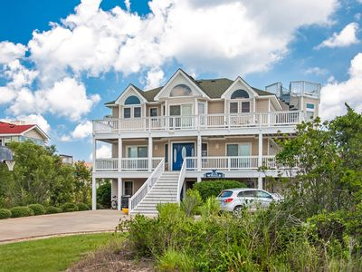 Photo for All Is Whale: Whalehead Beach, oceanside, private pool and hot tub, short walk to the beach.