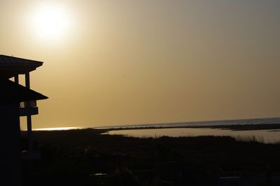Sunrise on Fripp from our balcony!