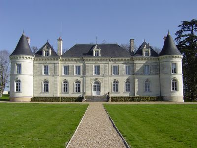 Photo for Beautiful chateau with pool and enclosed park in Loire Valley