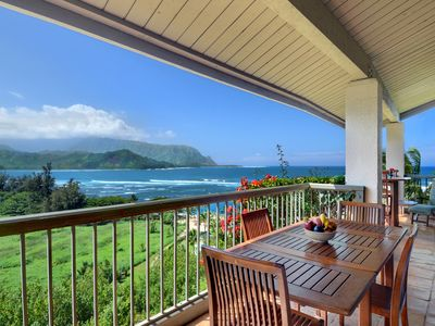 Photo for Hanalei Bay Resort #9305: Ocean Front Views with AC & Loft!