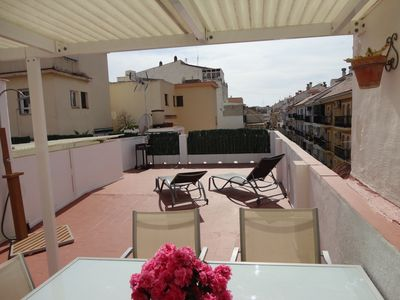 Photo for Apartment with sun terrace in the center of Fuengirola, 300 m. of the beach.