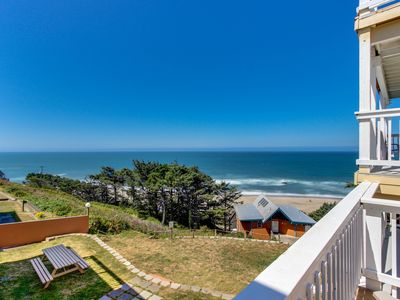 Photo for Ocean views and pure luxury await from this dog-friendly home!