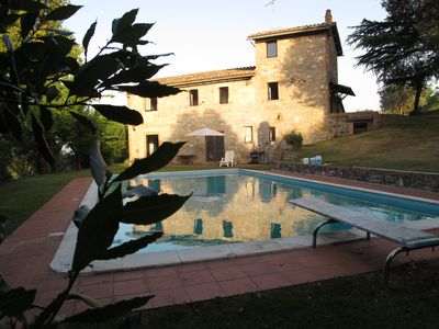 Photo for House in the green hills of Umbria