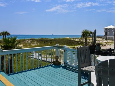 Photo for Square Flowers is a family and pet friendly beach house on the Gulf of Mexico