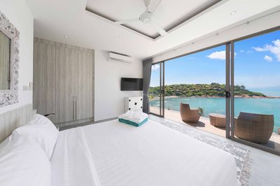 Fabulous Seaview from Master Bedroom