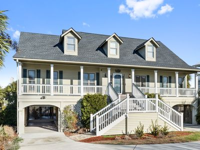 Photo for Beautiful Atlantic Sound and River Views ~Golf Cart And WiFi! Sand Dollar Sweet