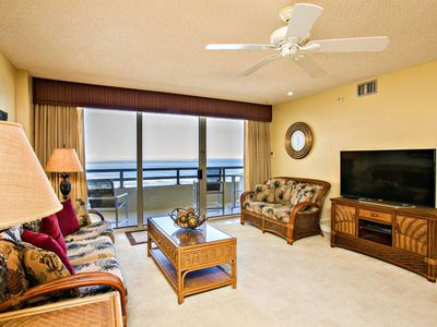 Photo for Oceanfront, Family-Friendly, NO-DRIVE Beach, Heated Pool, Master w/ Balcony Access-FREE WIFI!!