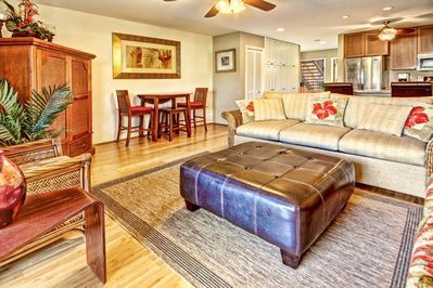 Very comfortable accommodations. Cable TV, wifi, dvd player, music system.