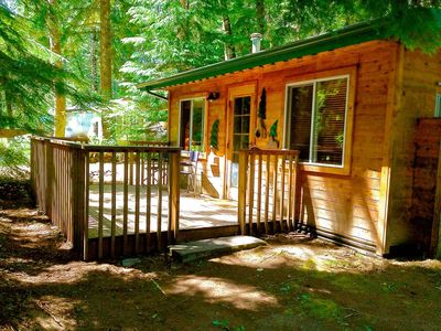 Photo for *New Owner*-Little Cabin in the Woods-Mt Rainier-Available Year Round