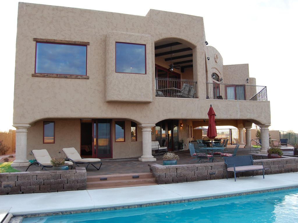 Luxury lake powell home private 4br 4ba l vrbo for Powell house