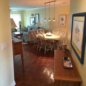 FEEL RIGHT AT HOME IN THE DINNING & LIVING ROOMS