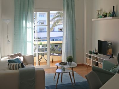 Photo for Cozy apartment - center Nerja - beach 75 mtr - good Wifi - sea view