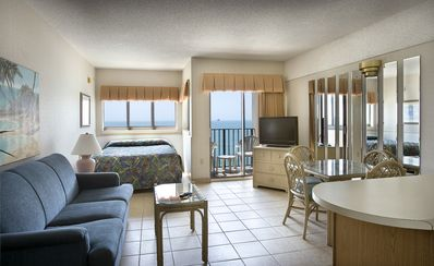 Photo for Oceanfront Sun Suite w/ Private Balcony + Official On-Site Rental Privileges