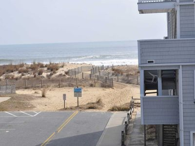 Photo for New LISTING Steps to beach, Second  Level, Private Parking, Linen included Unit 11