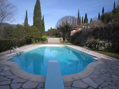 Photo for Exceptional Bastide with enormous grounds, large pool, tennis court, billards...