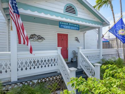 Photo for Porchside Paradise - Nightly rental a half block off infamous Duval st