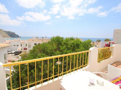 Photo for Traditionally Portuguese house with 2 bedrooms and sea view in Praia da Luz.