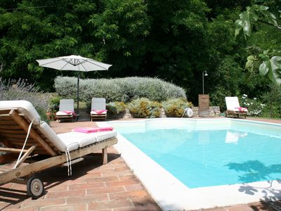Photo for Charming farmhouse with private pool