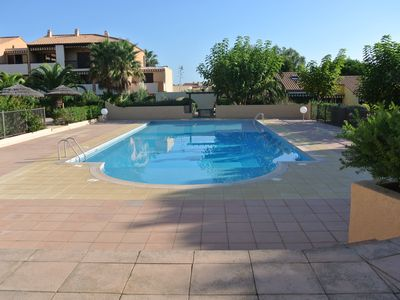Photo for STUDIO 4 PEOPLE WITH TERRACE AND POOL GIENS HYERES