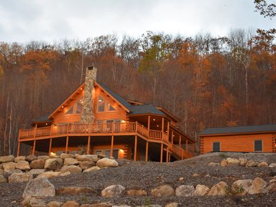 Photo for PLAN YOUR FALL WEDDING NOW/ AWESOME VIEWS / 8 PERSON HOT TUB