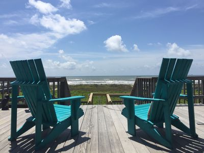 Photo for Ocean Front Gulf Coast - Enchanted Shell in Surfside Beach Texas