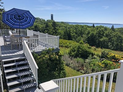 Photo for Secluded 4BR on South Bristol's Highest Point, Water Views