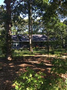 Photo for North Fork retreat nestled in the trees. A quick walk to Peconic Bay beach.